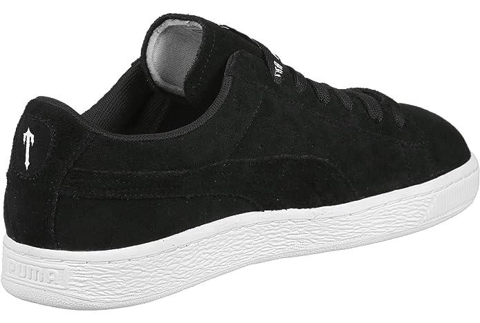 3e66f9a689bd Puma - Suede X Trapstar - 36150001 - Color  Black - Size  8.5   Amazon.co.uk  Shoes   Bags