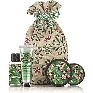 Amazon Com The Body Shop Peppermint Candy Cane Bath Bomb 1 7 Oz