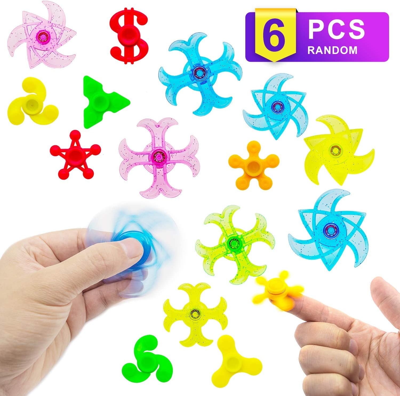 6PCS STRETCHY FIDGET STRING TANGLE TOY RELAX ANXIETY STRESS ADHD SENSORY AID