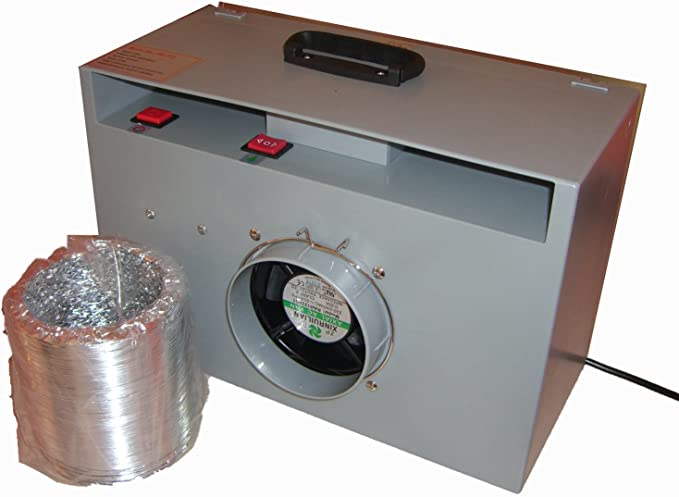 Tragbarer Spritzbox mit Absaugen Fengda® BD-512