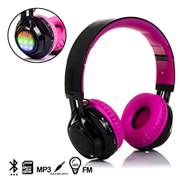 DAM. DMX017PINK. Cascos Bluetooth con Radio Incorporada ...
