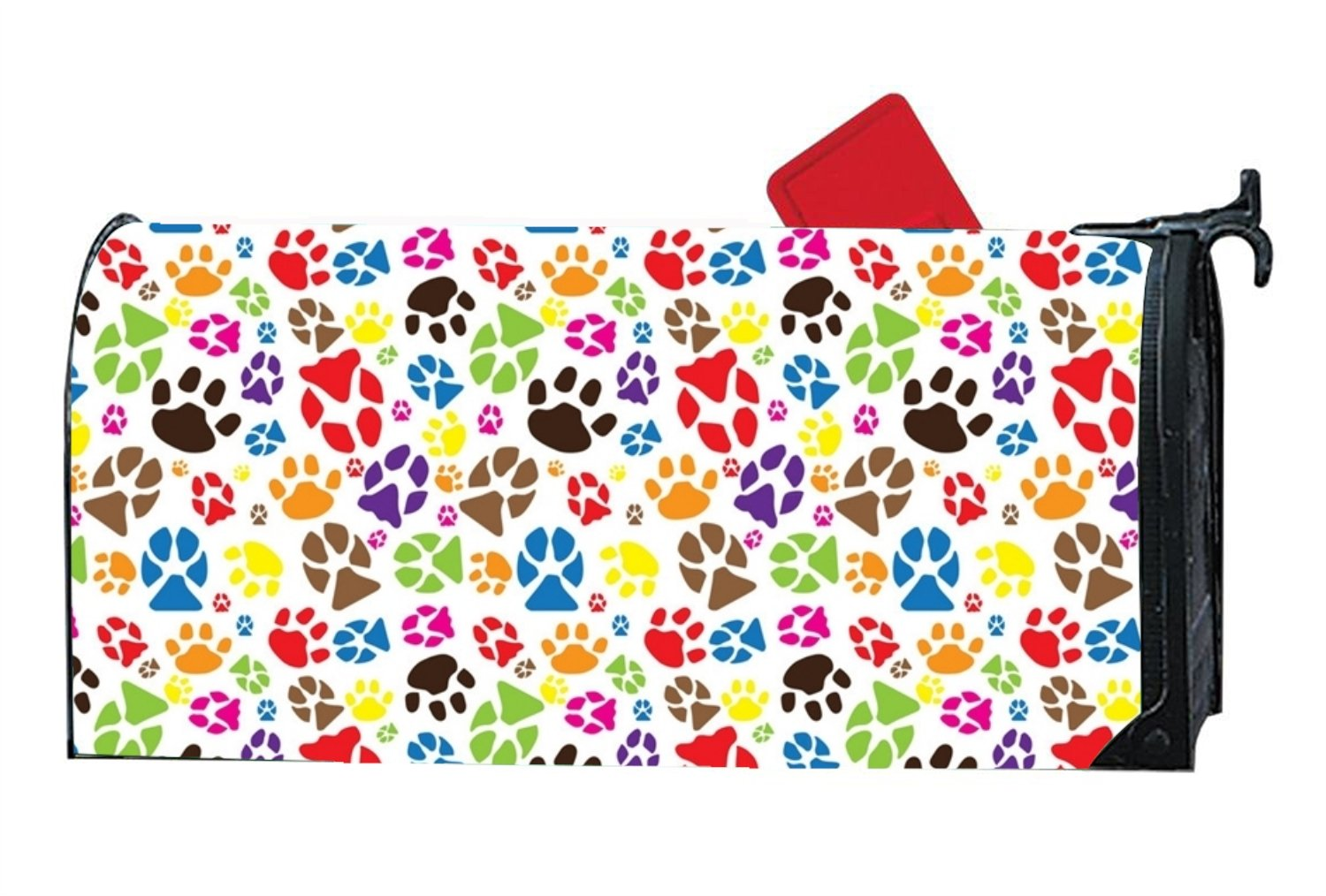 XW-FGF A Dog With An Animal's Paw Magnetic mailbox cover Home Magnetic