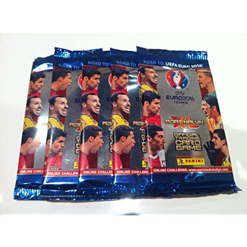 Panini Road to Euro 2016 France Adrenalyn XL - 10 paquets d'appoint (version UK)