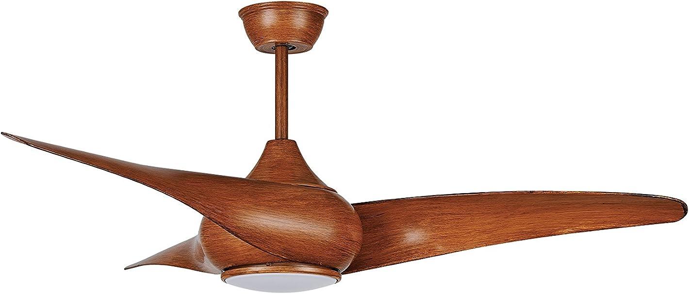 Ventilador de techo Sulion 072214 Montecarlo Wooden, motor DC ...