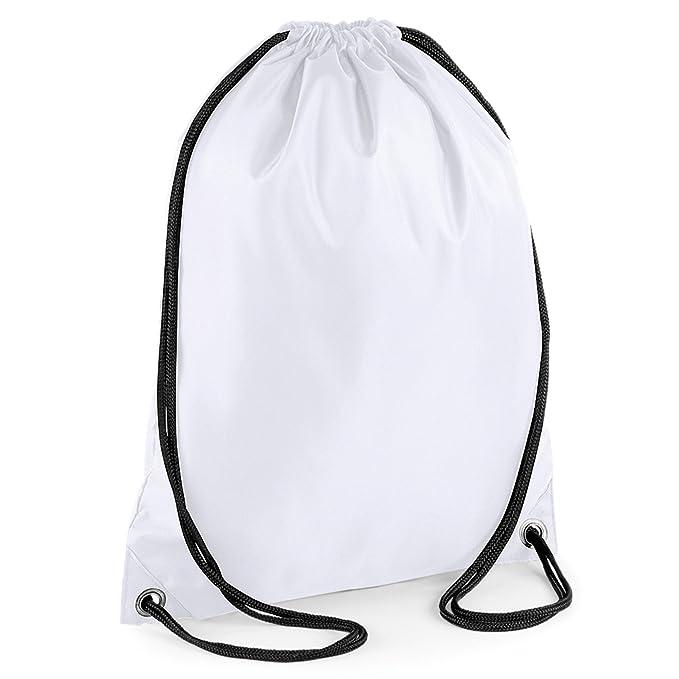 be3abd00b744 Drawstring Backpack Waterproof Gym Bag PE Duffle School Kids Boys Girls  Train Sack (Lime Green)  Amazon.co.uk  Sports   Outdoors