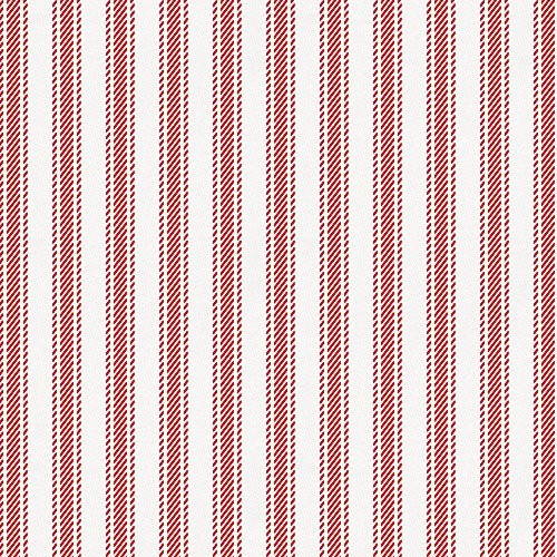 Carousel Designs Red Ticking Stripe Fabric by the Yard - Organic 100% Cotton (Cotton Red Ticking)