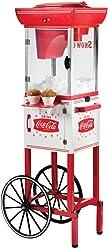 Nostalgia SCC399COKE Coca-Cola Snow Cone Cart