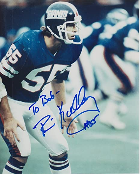 uk availability 7dccf 58491 Brian Kelley Autographed Personalized New York Giants 8x10 ...