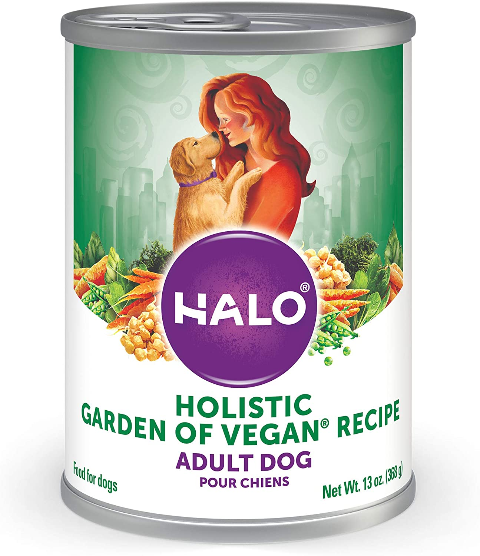 Halo Vegan Natural Wet Dog Food, Garden of Vegan Recipe