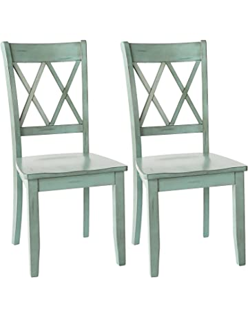 1fdd044f055 Ashley Furniture Signature Design - Mestler Dining Room Side Chair - Wood  Seat - Set of