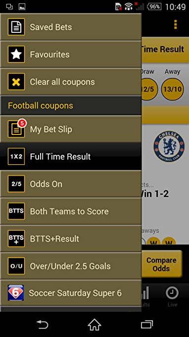 Amazon com: Football Coupon Betting: Appstore for Android