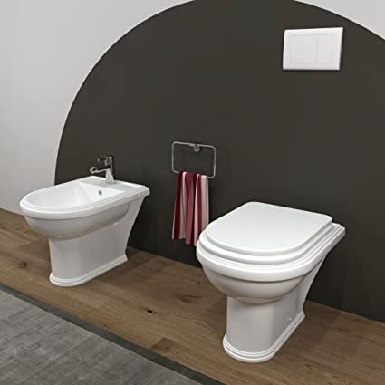 MarinelliGroup - Sanitari bagno Bidet e Vaso WC Omega tradizionale ...