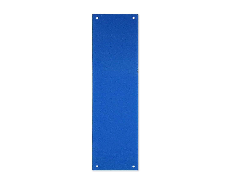 Focus Plastics DOOR FINGER PLATE- 11 COLOURS (Grey) Focus Plastics Ltd