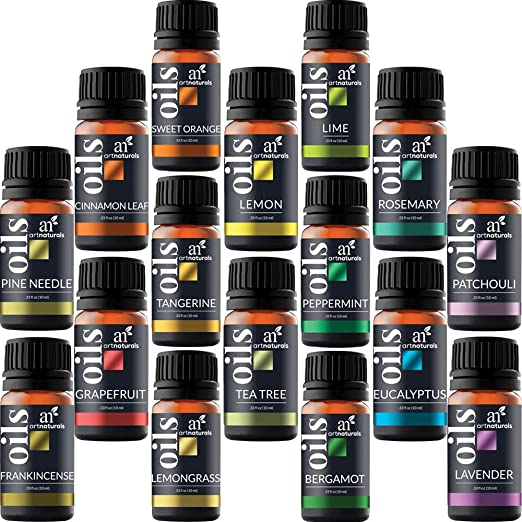 57 opinioni per Art Naturals Set di Oli Essenziali Top 16, 10 ml (x16).