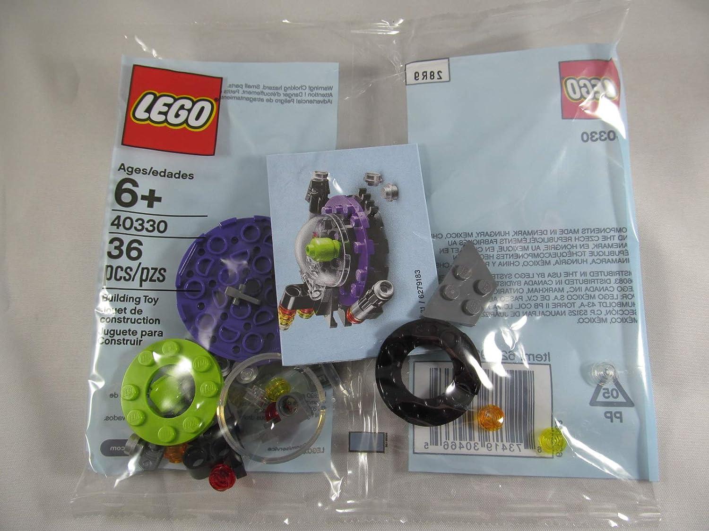 LEGO UFO Alien Spaceship Polybag Mini Build Set 40330, 36 Pieces