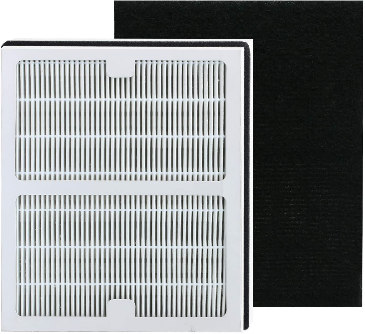 Replacement Idylis A True Hepa Filters, Compatible with Idylis AC-2119, IAPC-10-140, IAP-10-100, IAP-10-150 Model # IAF-H-100A, Includes 1 HEPA & 1 Carbon Filters