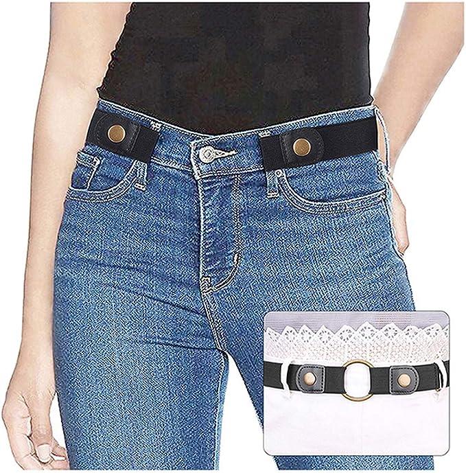 Neu Gürtel Jeanshosen-Gürtel Unisex Damen Herren Farbe schwarz verschiedene Gr