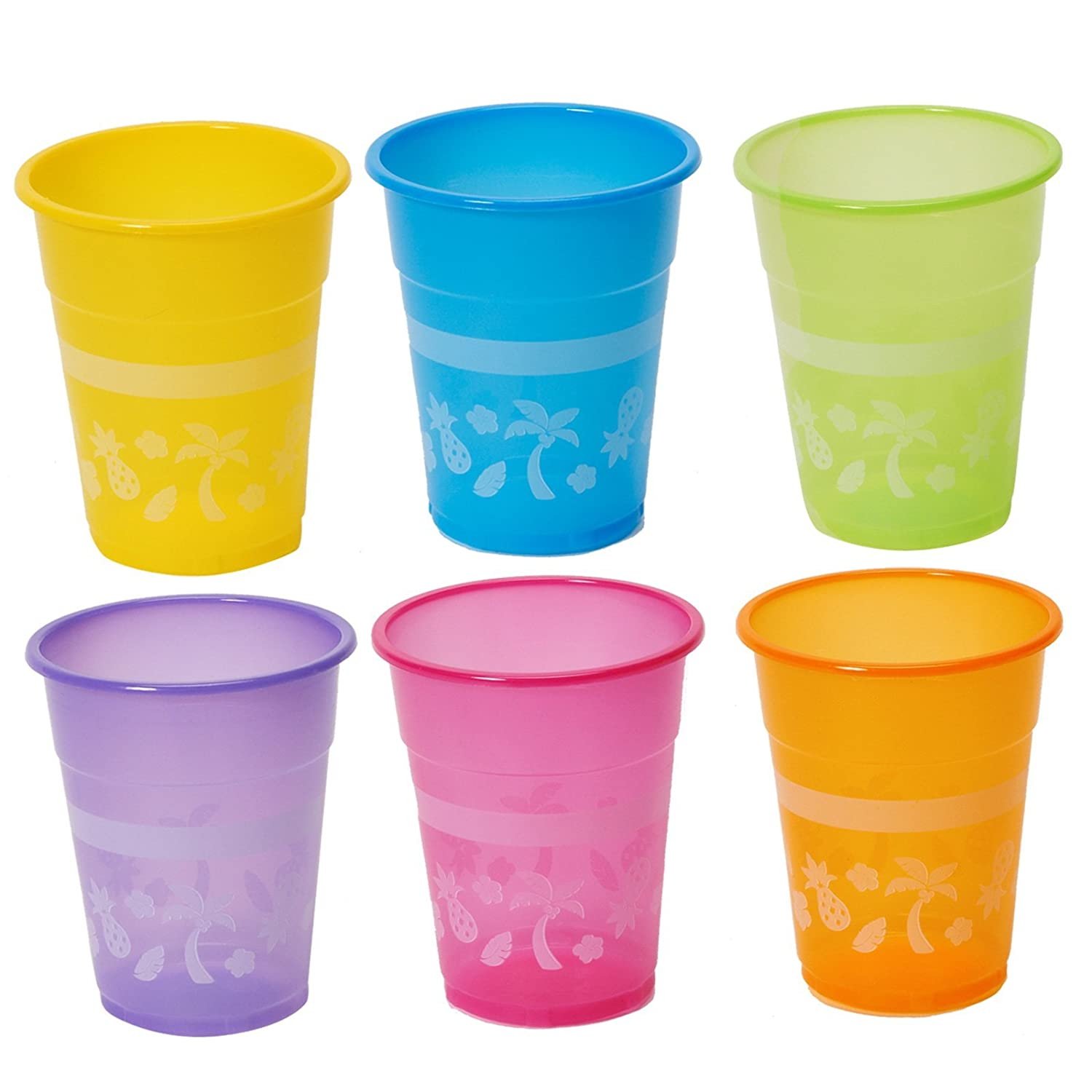 Luau Disposable Cups : package of 50 Fun Express 3L-3-3002