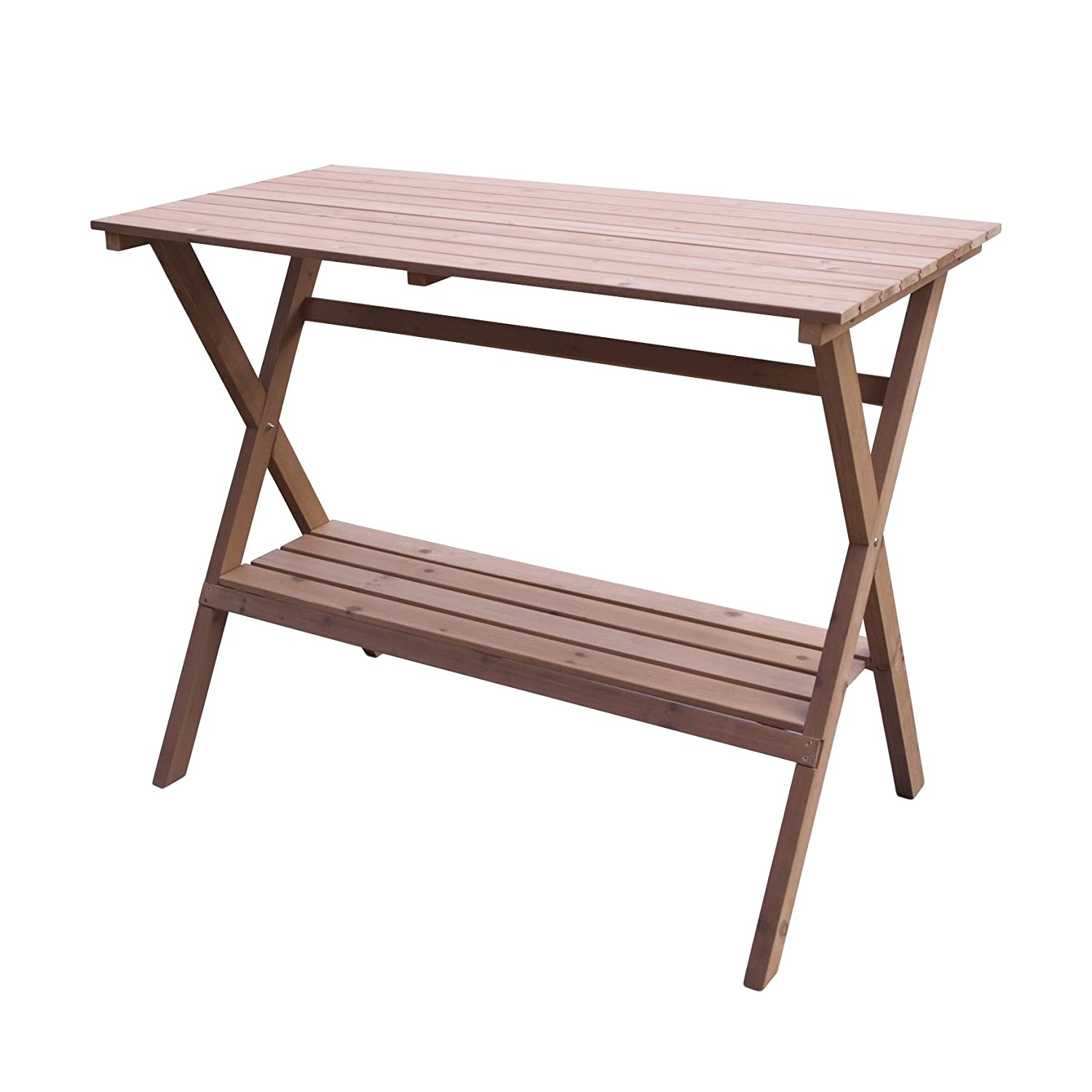 Merry Garden MPG‐PB05 Simple Potting Bench and Console Table MPG-PB05