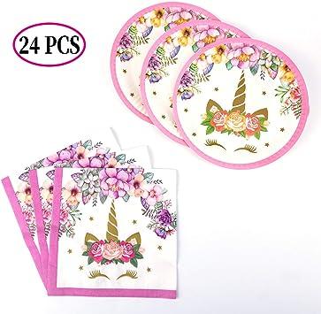 Unicorn Serviettes En Papier Pack De 20-Licorne à thème partyware