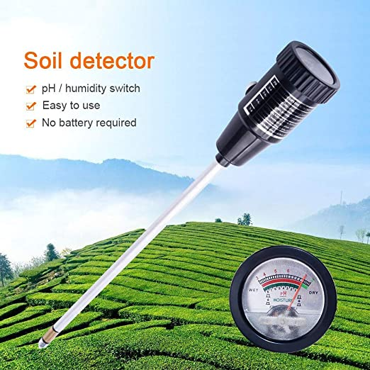 Probador de suelo alta precisión medidor de acidez del suelo ...