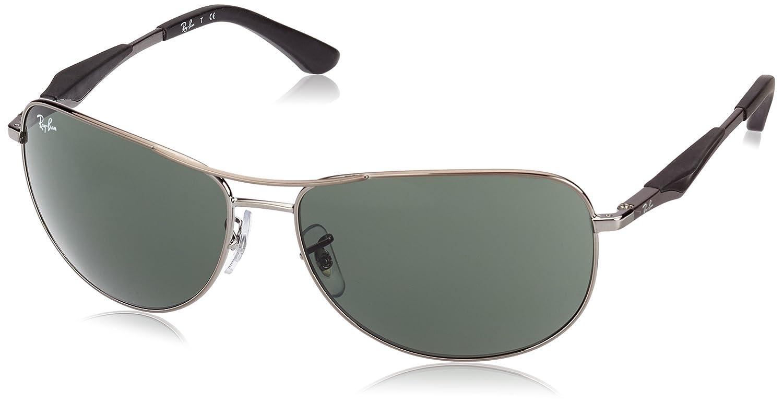 Ray-Ban Unisex Sonnenbrille RB3519, Einfarbig