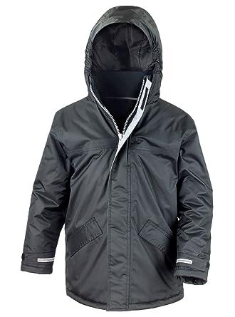 ef189f322e73 Result Core Unisex Kids Winter Parka Waterproof   Windproof Hooded ...