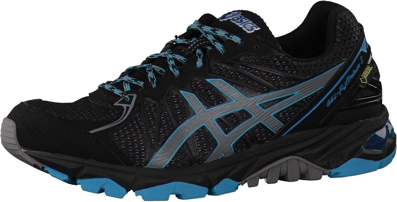 Asics – Womens Running fujitr abuco 3 G TX Women Black t4e8 N9097, Color Negro, Talla 44: Amazon.es: Zapatos y complementos