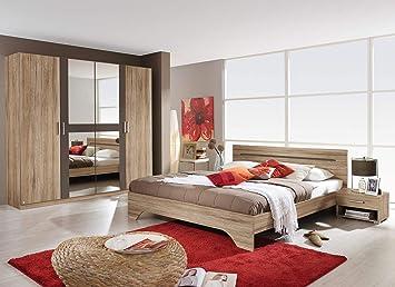 lifestyle4living Schlafzimmer Komplett, Schlafzimmermöbel, Set ...