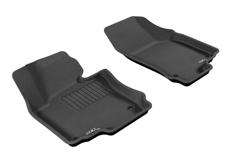 Rubber floor mats vw jetta - Amazon Com 3d Maxpider Front Row Custom Fit All Weather Floor Mat For Select Volkswagen Jetta Models Kagu Rubber Black Automotive