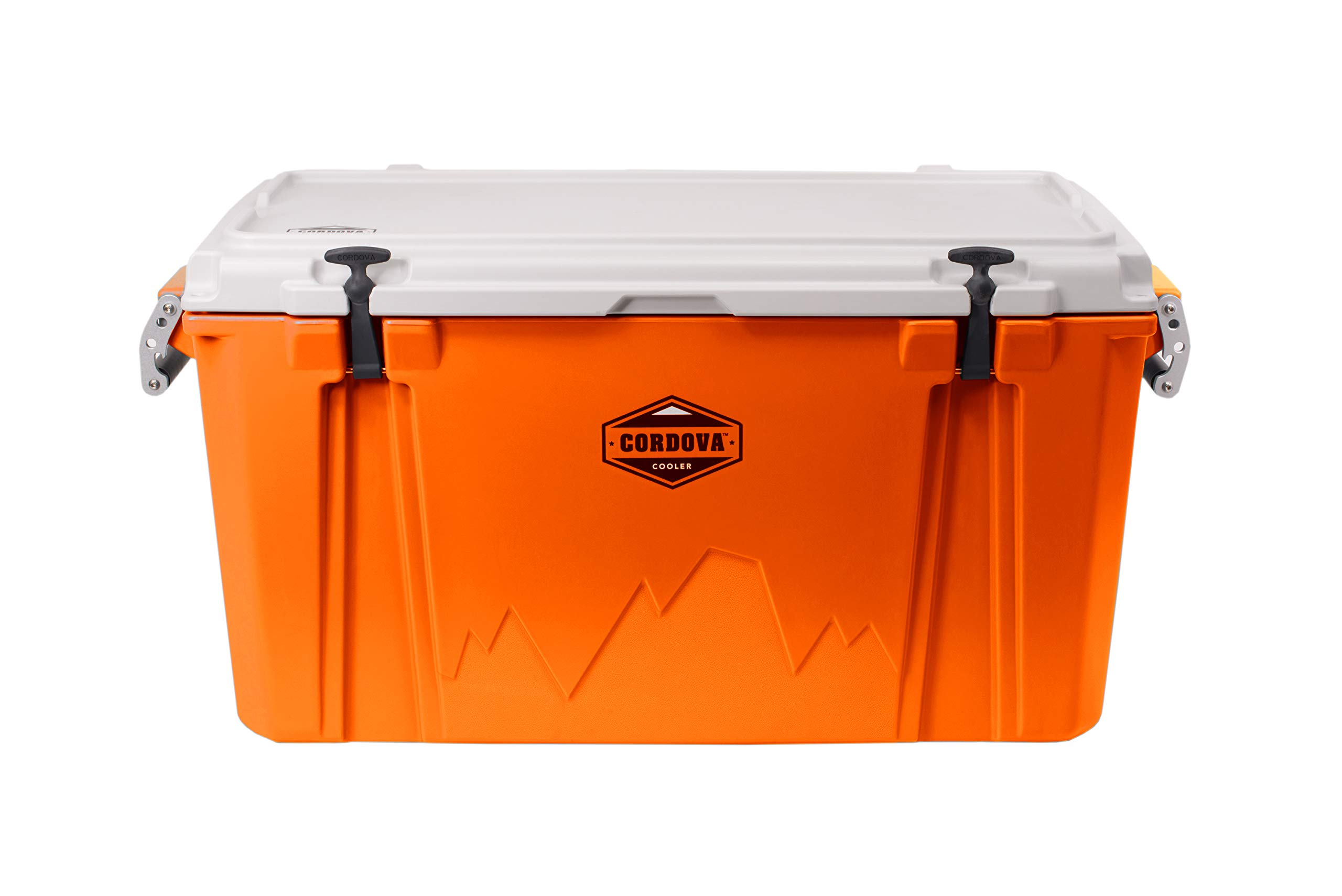 Cordova Coolers 100 Large Cooler, Orange by Cordova Coolers