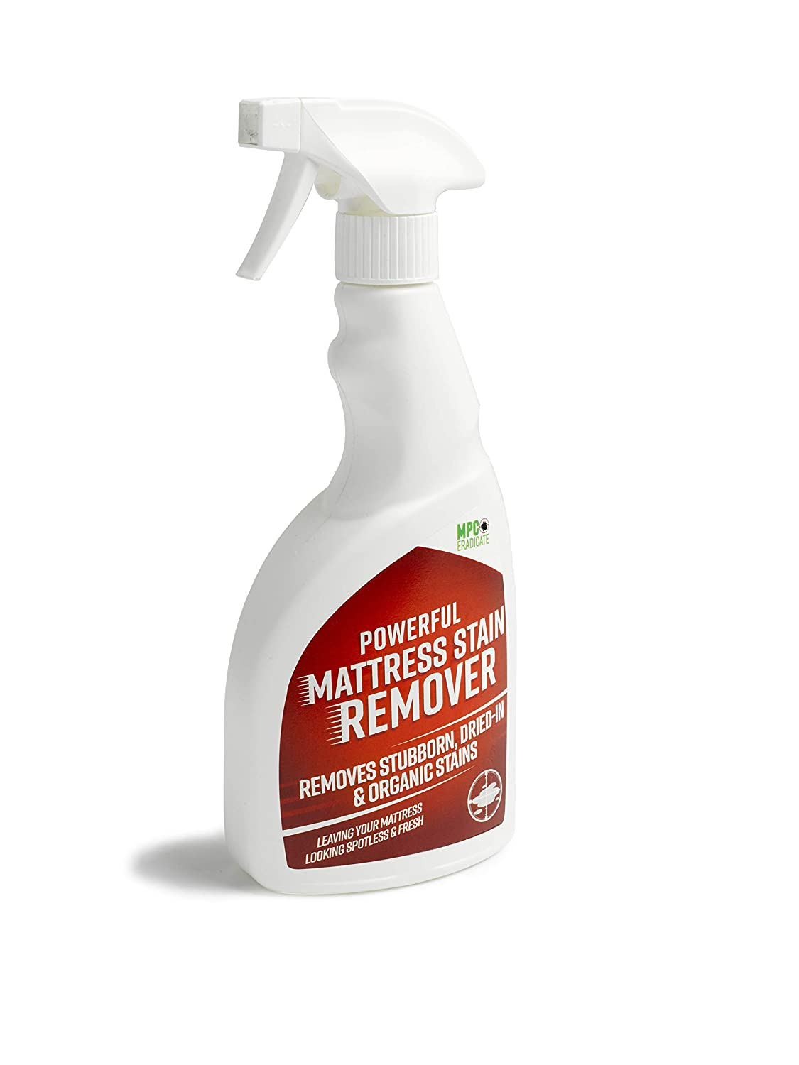 MPC ERADICATE Powerful Mattress Stain Remover Urine Vomit Blood Pet Faeces Bed Cleaner Freshner Millennium Pest Control