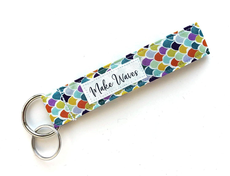 Mermaid key fob keychain