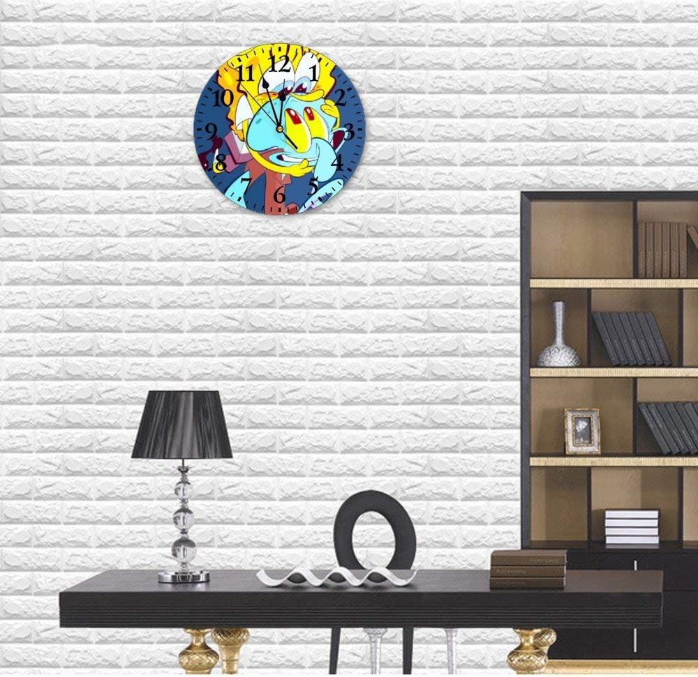 YOKJLDH - Reloj de pared de PVC, diseño de Bob Esponja con ...