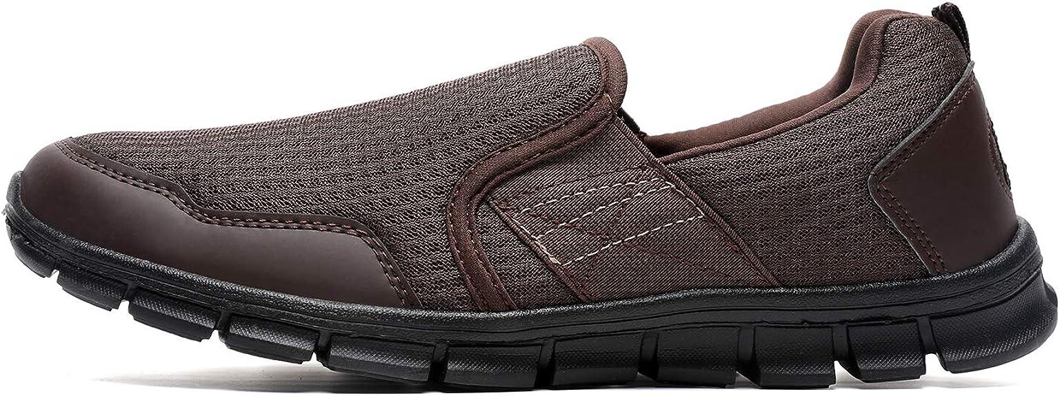 Hojert)-002 Men's Slip-On Loafer Flex Shoe,Running Shoe Walking Shoes,002 Men Sneaker,Flex Work Shoe,Men's Flex-Adult Shoes