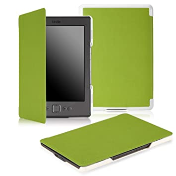 Amazon.com: MoKo Slim Carcasa para Amazon Kindle 4.: Kindle ...
