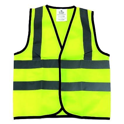 76f13fc471b7 Kids High Visibility Hi Viz Safety Vest Top Hi Vis Baby Toddler ...