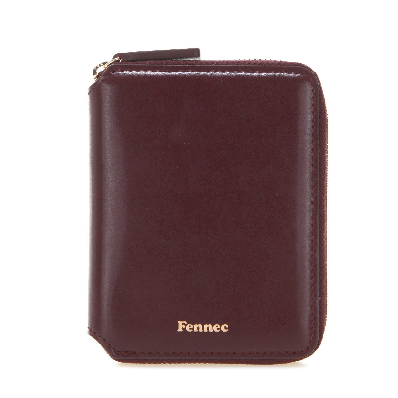 Fennec Zipper Wallet 2 フェネック 二つ折り財布 本革レザー 【Fennec Official】 B078V4CP1M ワイン ワイン