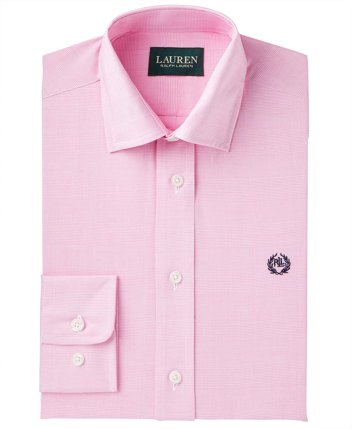 Ralph Lauren Polo Boys Striped Dress Shirt (16) Pink