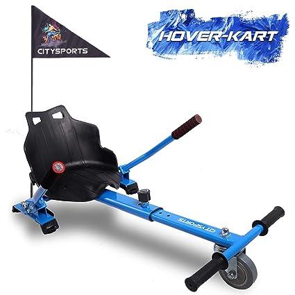 GeekMe Hoverkart, Silla de Scooter Self Balance, Asiento Kart se Adapta a Todos los tamaños patinetes, Regalo para niños.-KT CS