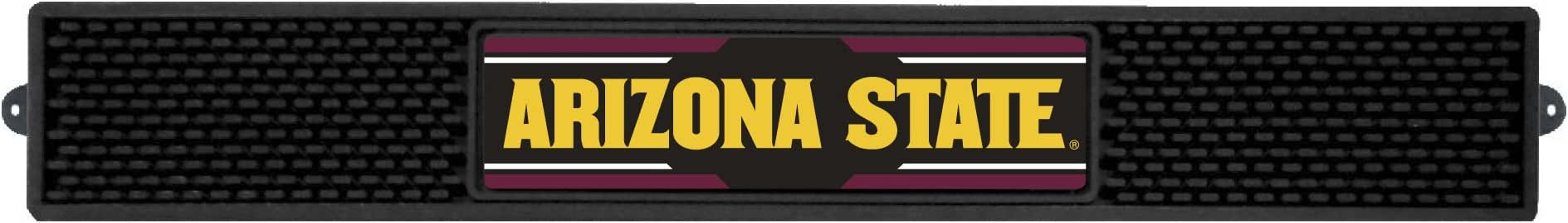 Team Color FANMATS 20535 Arizona State Drink Mat 3.25x24