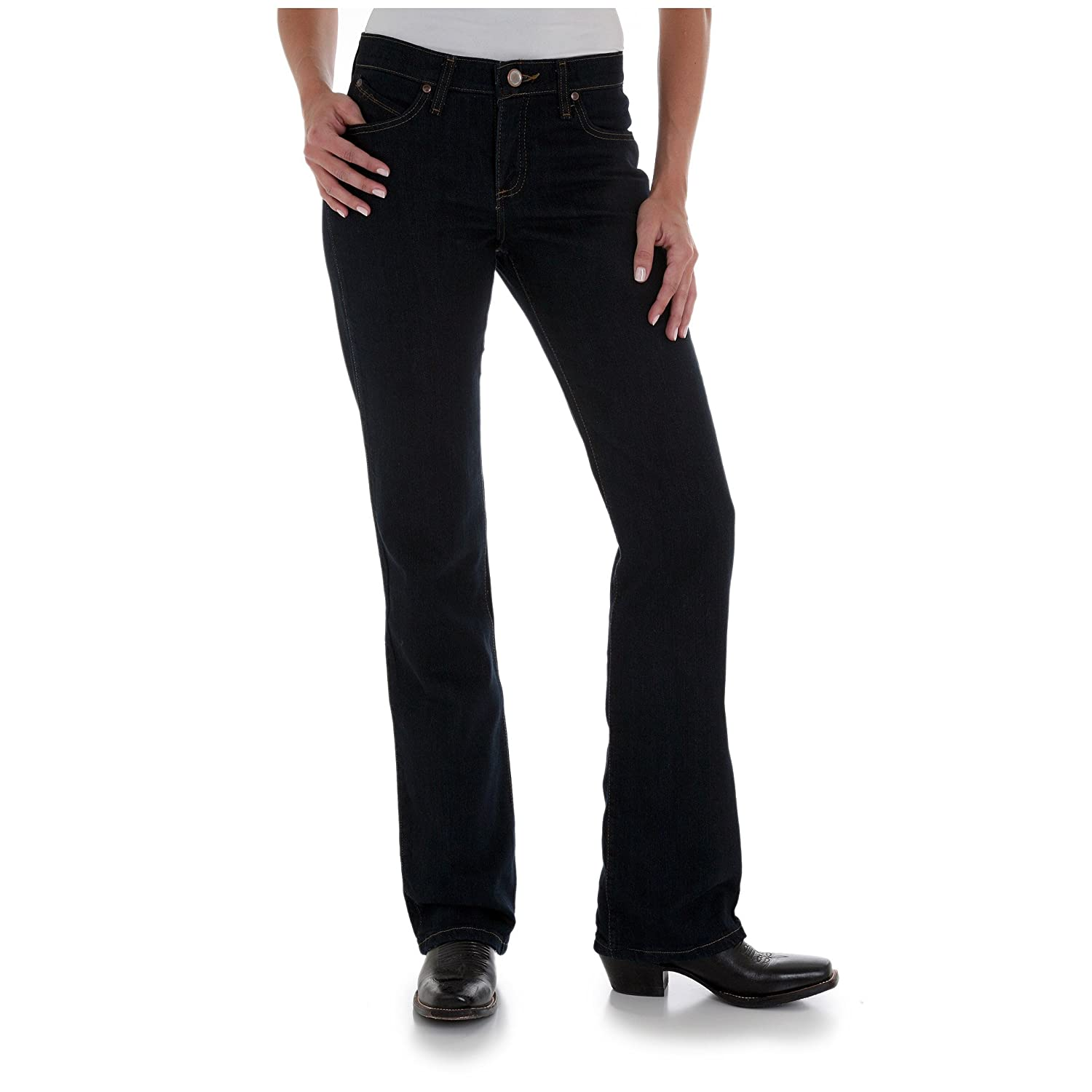 d0096e5d61a Amazon.com  Wrangler Women s Cowgirl Cut Ultimate Riding Jean Q-baby  Absolute Star 11x36L  Everything Else