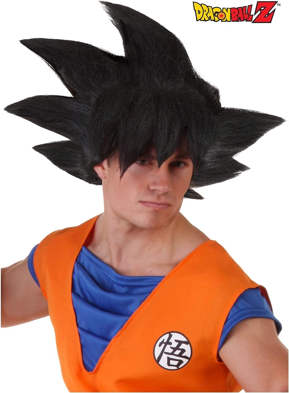 Adult Goku Dragon Ball Z Black Synthetic Wig