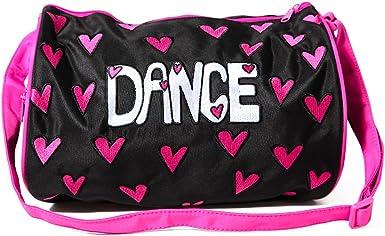 DansBagz by Danshuz Girls Hearts For Dance Duffel Bag