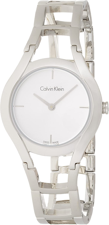 Calvin Klein 32001549 - Reloj analógico de Cuarzo para Mujer, Acero Inoxidable