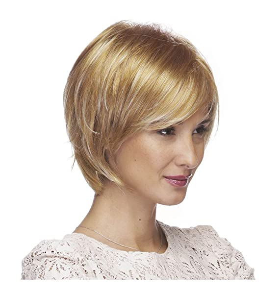 Women's Layered Pixie Cut Wig (Honey Blonde): Amazon ca