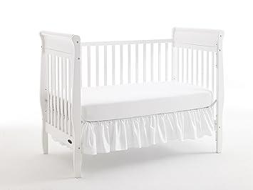 amazon com graco sarah classic convertible crib white rh amazon com Solid Oak Cribs Rustic Baby Furniture Crib