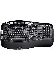 Logitech Wireless Keyboard K350 for Business UK layout, Black
