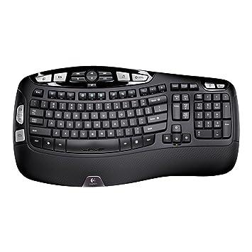 f6ef2c80021 Logitech Wireless Keyboard K350 for Business UK layout, Black ...