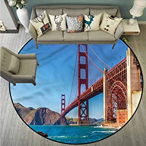 "Custom Rugs,Travel,Marshall Beach in California,Rustic Home Decor,2'11"""